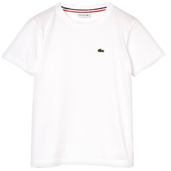 Clothing Boy Short-sleeved t-shirts Lacoste NAE White