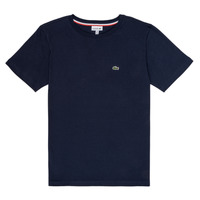 Clothing Boy Short-sleeved t-shirts Lacoste JOSEPHE Marine