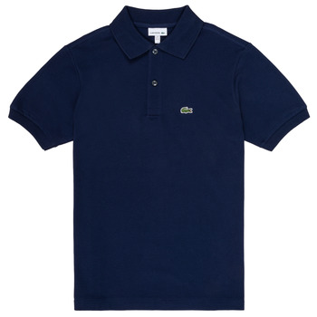 Clothing Boy Short-sleeved polo shirts Lacoste LOLLA Marine