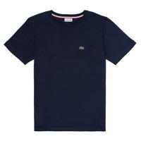 Clothing Boy Short-sleeved t-shirts Lacoste KETLEEN Marine