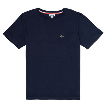 Clothing Boy Short-sleeved t-shirts Lacoste JUSTYNE Marine