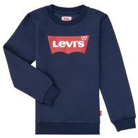 Clothing Boy Sweaters Levi's BATWING CREWNECK Marine
