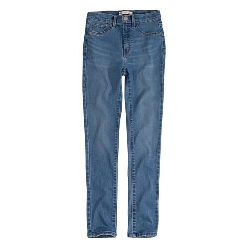 Clothing Girl Skinny jeans Levi's 721 HIGH RISE SUPER SKINNY Blue