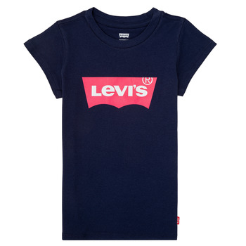 Clothing Girl Short-sleeved t-shirts Levi's BATWING TEE Marine
