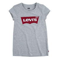 Clothing Girl Short-sleeved t-shirts Levi's BATWING TEE Grey