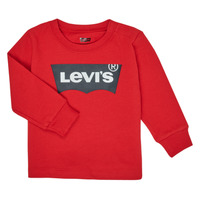 Clothing Boy Long sleeved tee-shirts Levi's BATWING TEE LS Red