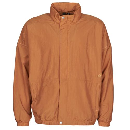Clothing Men Track tops adidas Originals M S2S WOV JKT Brown