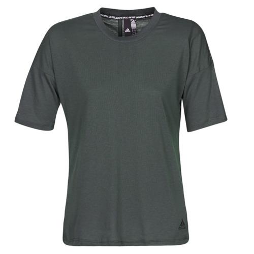 Clothing Women Short-sleeved t-shirts adidas Performance W MH 3S Tee Black