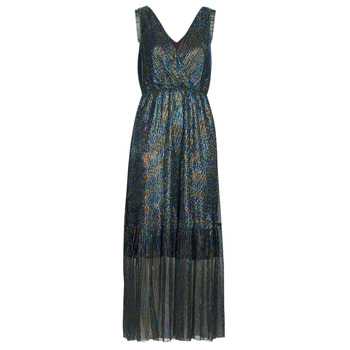 Clothing Women Long Dresses Betty London MADAMME Blue