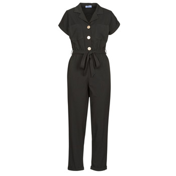 Clothing Women Jumpsuits / Dungarees Betty London MYRTIL Black
