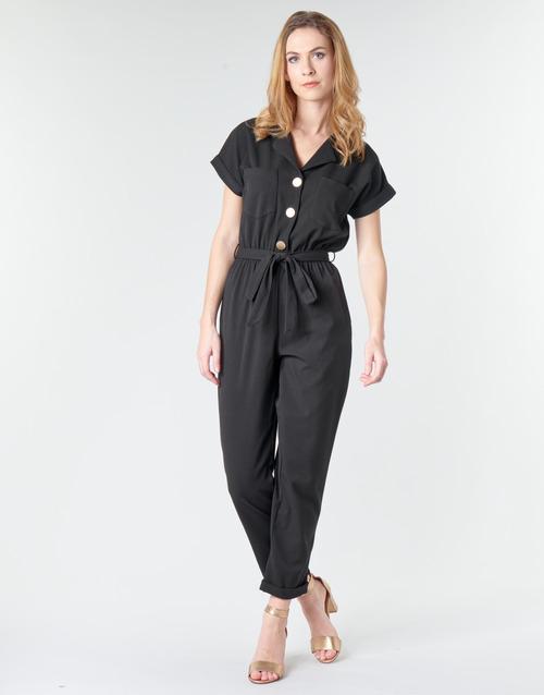 Clothing Women Jumpsuits / Dungarees Betty London MYRTIL Black