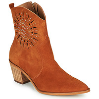 Shoes Women Ankle boots Fericelli MEYLIA Cognac