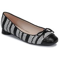 Shoes Women Flat shoes Fericelli MARYA Black / Et / White