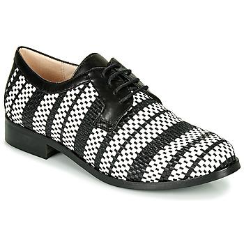 Shoes Women Derby Shoes Fericelli MILEYNE Black / Et / White