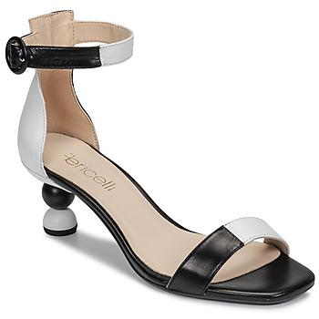 Shoes Women Sandals Fericelli MARC Black / Et / White