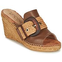 Shoes Women Mules Fericelli MELISSA Cognac
