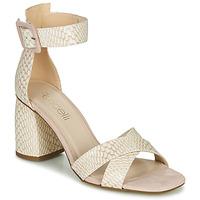Shoes Women Sandals Fericelli JEZI White / Pink