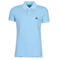 Clothing Men short-sleeved polo shirts Benetton RADI Blue