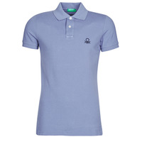 Clothing Men Short-sleeved polo shirts Benetton NADI Blue
