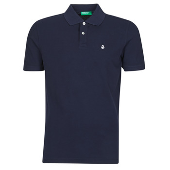 Clothing Men Short-sleeved polo shirts Benetton NOLIA Marine