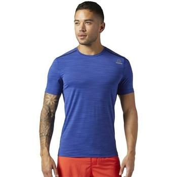 Clothing Men Short-sleeved t-shirts Reebok Sport Actvchl Tee Blue