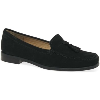 Shoes Women Loafers Charles Clinkard Donella II Womens Moccasins black