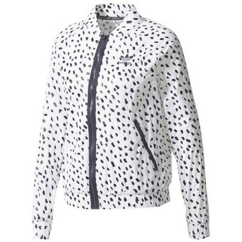 Clothing Women Jackets adidas Originals Cienk White, Navy blue