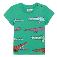 Clothing Boy Short-sleeved t-shirts Catimini LIZANDRO Blue