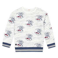 Clothing Boy Sweaters Catimini KATEL White