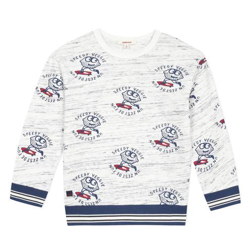 Clothing Boy sweaters Catimini KATEL White