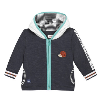 Clothing Boy Jackets / Cardigans Catimini INAYA Blue
