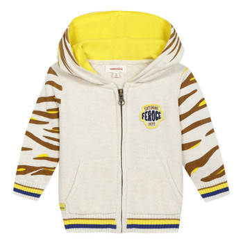 Clothing Boy Jackets / Cardigans Catimini LILYA Beige