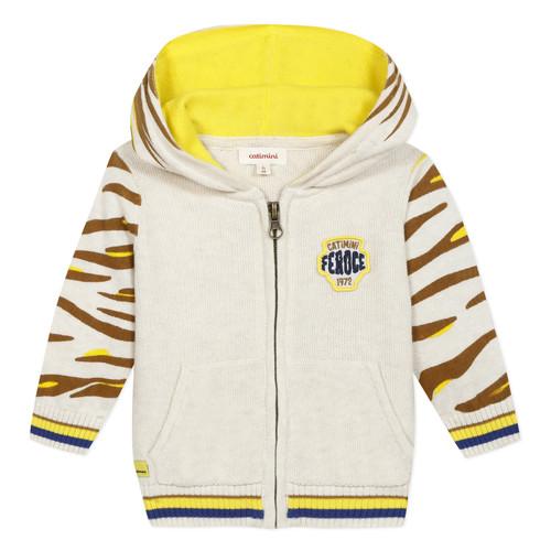 Clothing Boy Jackets / Cardigans Catimini LILYA Beige
