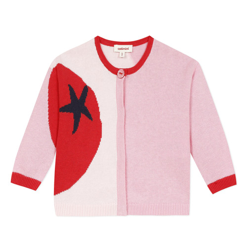Clothing Girl Jackets / Cardigans Catimini LIANA Pink