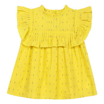 Clothing Girl Tops / Blouses Catimini MAINA Yellow