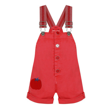 Clothing Girl Jumpsuits / Dungarees Catimini SIBYLLE Red