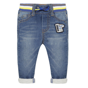 Clothing Boy 5-pocket trousers Catimini HELOISE Blue