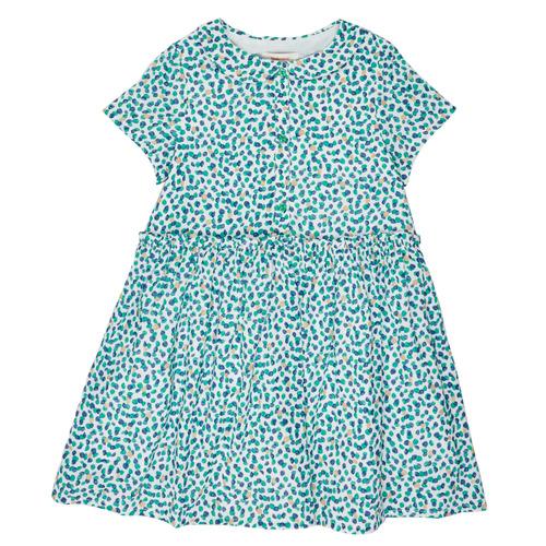 Clothing Girl Short Dresses Catimini ELLA White