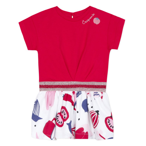 Clothing Girl Short Dresses Catimini DAMIANO Red