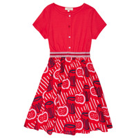 Clothing Girl Short Dresses Catimini MANOA Red
