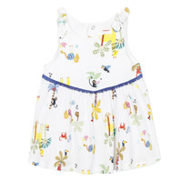 Clothing Girl Short Dresses Catimini BIXENTE White