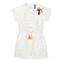 Clothing Girl Jumpsuits / Dungarees Catimini LUCIUS White