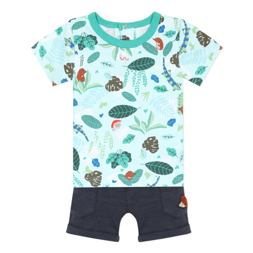Clothing Boy Sets & Outfits Catimini THOMAS Blue