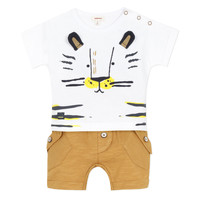 Clothing Boy Sets & Outfits Catimini AYDEN Beige
