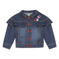 Clothing Girl Jackets Catimini VALENTIN Blue