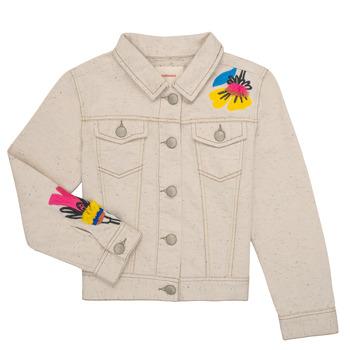 Clothing Girl Jackets / Blazers Catimini LYAMM Beige