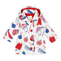 Clothing Girl Parkas Catimini THEOLIO White