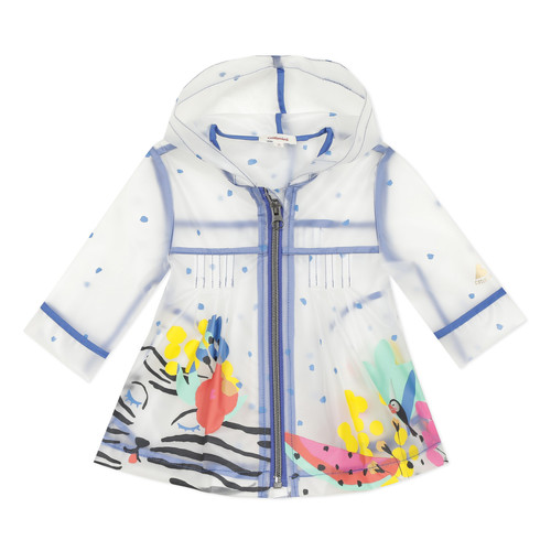 Clothing Girl Parkas Catimini SLOVANNA White