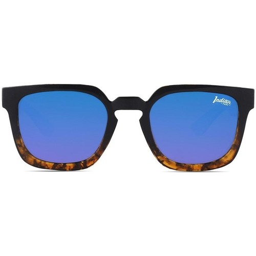 Watches & Jewellery  Sunglasses The Indian Face Tarifa Tortoise / Blue Brown
