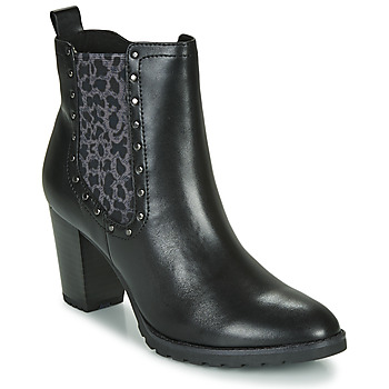 Shoes Women Ankle boots Caprice LUTIMA Black